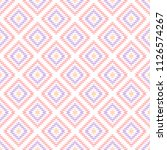 pastel colored pink geometric... | Shutterstock .eps vector #1126574267