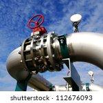 industrial zone  steel...   Shutterstock . vector #112676093