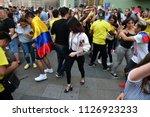 moscow  russia   june 23  2018  ... | Shutterstock . vector #1126923233