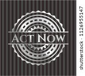 act now silver badge | Shutterstock .eps vector #1126955147
