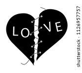 love slogan  cry  catchword ...   Shutterstock .eps vector #1126957757