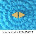 left right mark icon on...   Shutterstock . vector #1126958627