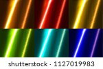 glossy dyed hair texture... | Shutterstock .eps vector #1127019983