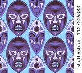 seamless pattern. ethnic... | Shutterstock .eps vector #1127226383