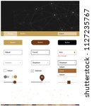 dark brown vector style guide...
