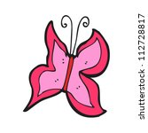 cartoon butterfly | Shutterstock .eps vector #112728817