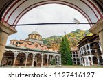 beautiful view of the orthodox... | Shutterstock . vector #1127416127