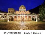 beautiful view of the orthodox... | Shutterstock . vector #1127416133