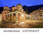 beautiful view of the orthodox... | Shutterstock . vector #1127416157