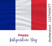 14 july  france independence... | Shutterstock .eps vector #1127453477