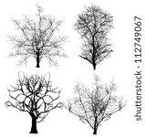 dead trees vectors | Shutterstock .eps vector #112749067