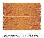 wooden boards texture clipart.... | Shutterstock .eps vector #1127555963