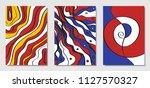 cover design templates set in... | Shutterstock .eps vector #1127570327