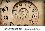 Vintage Infinity Clock.  Time...