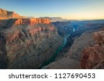 sunset at the grand canyon ... | Shutterstock . vector #1127690453