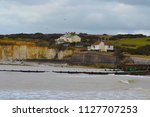 scenic view of white cliffs of... | Shutterstock . vector #1127707253