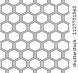vector seamless texture. modern ...   Shutterstock .eps vector #1127751563