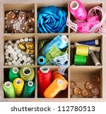 thread and material for... | Shutterstock . vector #112780513