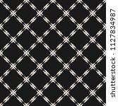 abstract geometric seamless... | Shutterstock . vector #1127834987