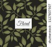 flower seamless pattern vintage ...   Shutterstock .eps vector #1127837507