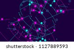 technology background. abstract ... | Shutterstock .eps vector #1127889593