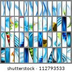 abstract various colorful... | Shutterstock .eps vector #112793533