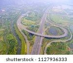 in china's jiangsu  a large... | Shutterstock . vector #1127936333