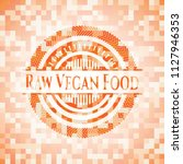 raw vegan food abstract orange... | Shutterstock .eps vector #1127946353