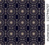 seamless damask wallpaper... | Shutterstock .eps vector #1127946707