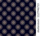 seamless floral wallpaper... | Shutterstock .eps vector #1127946713