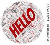 vector concept or conceptual... | Shutterstock .eps vector #1128149717