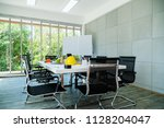 nice creativity office space... | Shutterstock . vector #1128204047