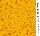 illustration. autumn background.... | Shutterstock . vector #1128222077