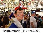 moscow  russia   june 26  2018  ... | Shutterstock . vector #1128282653