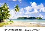 Batteaux Bay, Tobago - stock photo