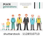 flat people generation... | Shutterstock .eps vector #1128510713