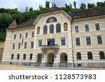 historic architecture in the... | Shutterstock . vector #1128573983