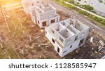 home building with precast... | Shutterstock . vector #1128585947