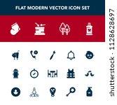 modern  simple vector icon set... | Shutterstock .eps vector #1128628697