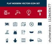 modern  simple vector icon set... | Shutterstock .eps vector #1128630677