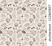 travel seamless background   Shutterstock .eps vector #112865857