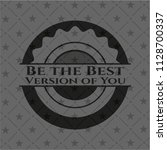 be the best version of you... | Shutterstock .eps vector #1128700337