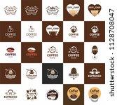 coffee logo   vector...   Shutterstock .eps vector #1128708047