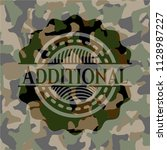 additional on camo pattern | Shutterstock .eps vector #1128987227