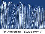 grunge texture. distress indigo ... | Shutterstock .eps vector #1129159943