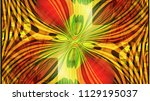 color abstract painting of...   Shutterstock . vector #1129195037