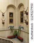 dunrobin castle  scotland  ... | Shutterstock . vector #1129227953