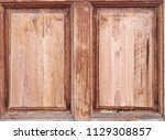wood background texture space... | Shutterstock . vector #1129308857
