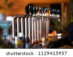 adjustable draft tap  | Shutterstock . vector #1129415957