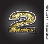vector golden figure | Shutterstock .eps vector #112945387